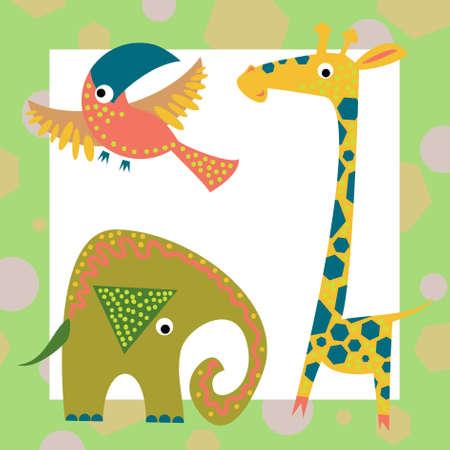 Geometric baby animals(1).jpg photo