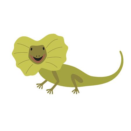 frill: frill necked lizard