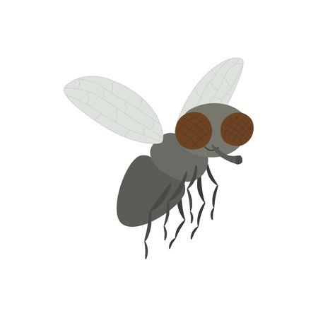 Wektorowa ilustracja kreskówki komarnica.