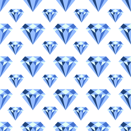 Vector pattern with diamonds. Seamless pattern can be used for wallpaper, pattern fills, web page background,surface textures and fabrics. Ilustrace