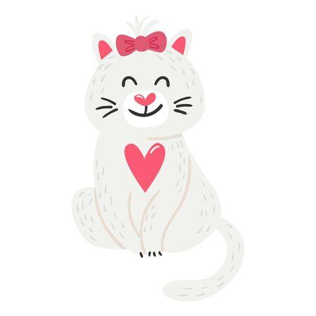 Vector Cute Cat