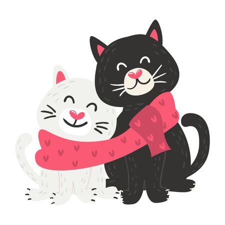 Vector Cute Cats