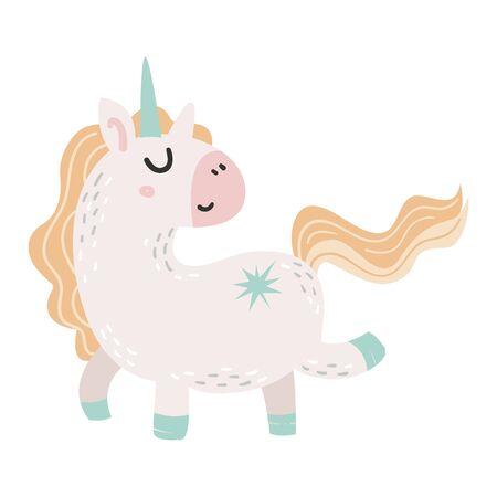 Vector Cute Unicorn