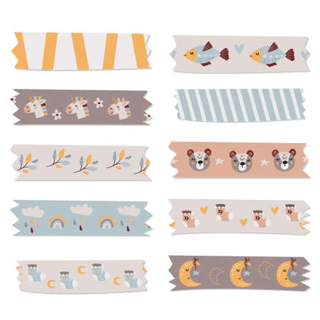 Washi tape collection for kids