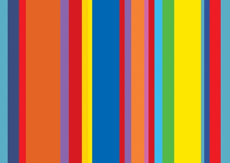 A stripped background wallpaper based on a pop art styled colour theme. Ideal use for background to drop text and pics onto. Stock Photo