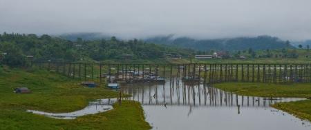 spiritless: wood bridges - sangklaburi  kanjanaburi