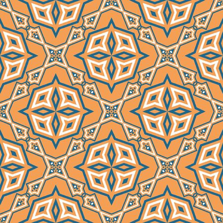 Seamless Geometric Pattern with square desinge element. Abstract texture designs can be used for backgrounds, motifs, textile, wallpapers, fabrics, gift wrapping, templates. Vector.