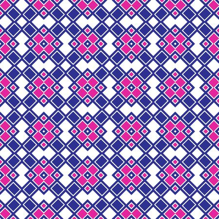 Seamless Geometric Pattern. Abstract texture designs can be used for backgrounds, motifs, textile, wallpapers, fabrics, gift wrapping, templates. Design Paper For Scrapbook. Vector. Vecteurs