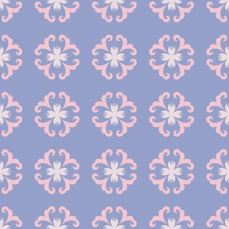 Tender ornament seamless pattern. Delicate background for design, fabric, paper, cover, packaging, home textile, wrapping, scrapbooking and wallpapers. Vector