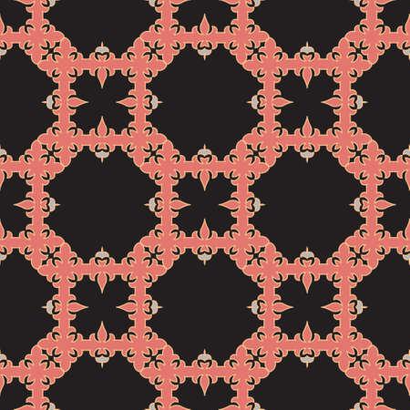 Classic Pattern Ornament, Decorative Seamless Geometric Pattern for Design Wallpaper, Fashion Print, Trendy Decor, Home Textile, Retro Decor Vector Illustration. Stock fotó - 157589286
