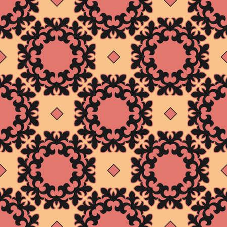 Classic Pattern Ornament, Decorative Seamless Geometric Pattern for Design Wallpaper, Fashion Print, Trendy Decor, Home Textile, Retro Decor Vector Illustration. Stock fotó - 157589398