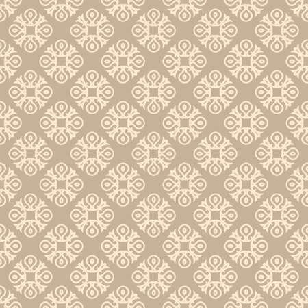 Classic Pattern Ornament, Decorative Seamless Geometric Pattern for Design Wallpaper, Fashion Print, Trendy Decor, Home Textile, Retro Decor Vector Illustration. Stock fotó - 158038970