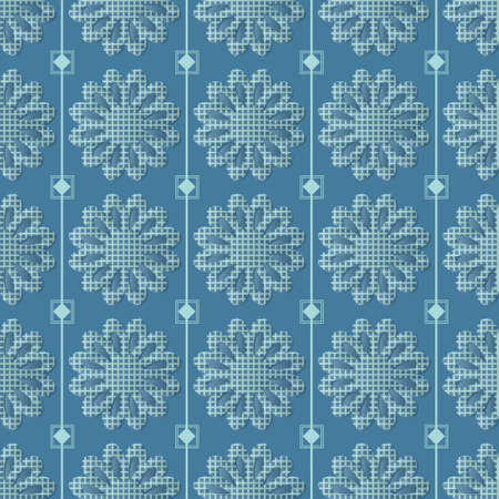 Decorative seamless pattern with beautiful flowers texture designs can be used for backgrounds, motifs, home textile, wallpapers, fabrics, gift wrapping, templates. Design Paper For Scrapbook. Vector.