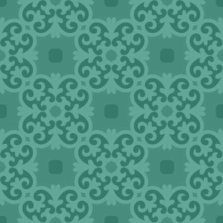 Classic Pattern Ornament, Seamless Floral Geometric Pattern for Design Wallpaper, Fashion Print, Trendy Decor, Home Textile, Retro Decor Vector Illustration.