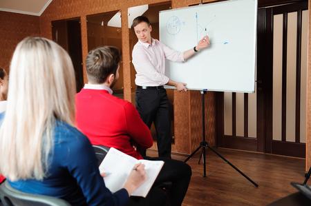 Meeting-Diskussion im Gespräch Austausch von Ideen Geschäftskonzept