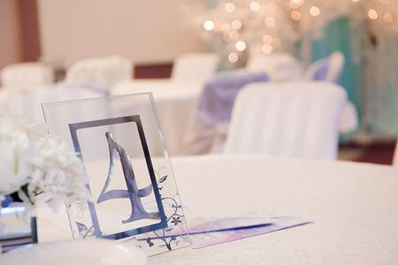 Details of a wedding banquet. Wedding ceremony decoration, beautiful wedding decor, flowers