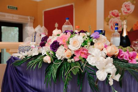 wedding banquet in a restaurant, party in a restaurant
