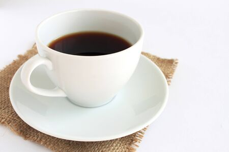 spaciousness: White Coffee Cup