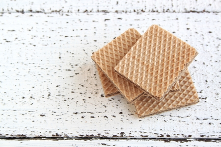 wafers: Delicious Wafers Stock Photo
