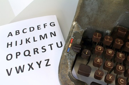abc's: The ABCs of Typewriter
