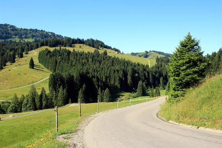 marguerite: Road through the mountains