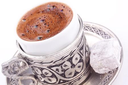 east espresso: turkish coffee Stock Photo
