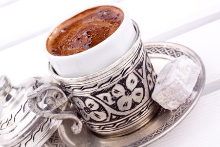 turkish coffee photo