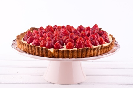 strawberry tart photo