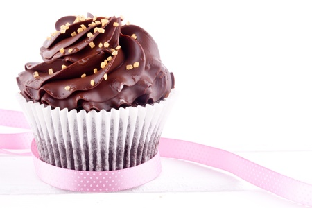 chocolate cupcake photo