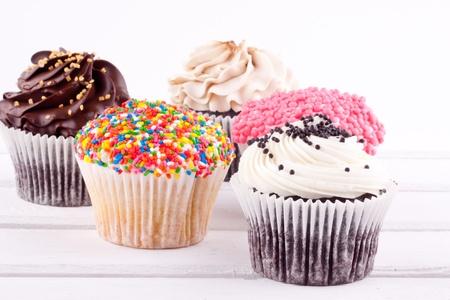 cupcakes 版權商用圖片
