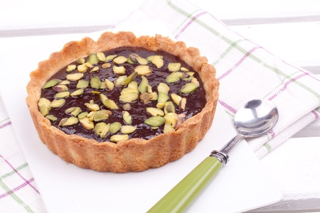 chocolate tart: chocolate tart