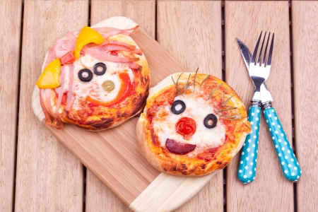 Mini pizzas photo