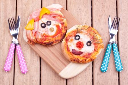 mini pizza 版權商用圖片