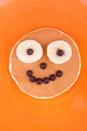 face on pancake