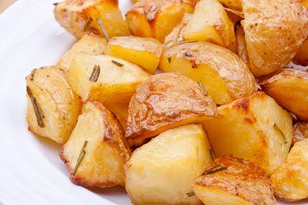 potato leaves: baked potato