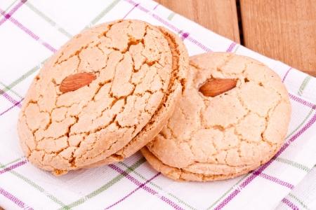 almond cookies photo