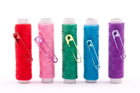 spool of threads  Stock Photo - 17938701
