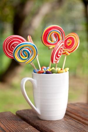smarties: lollipops and smarties