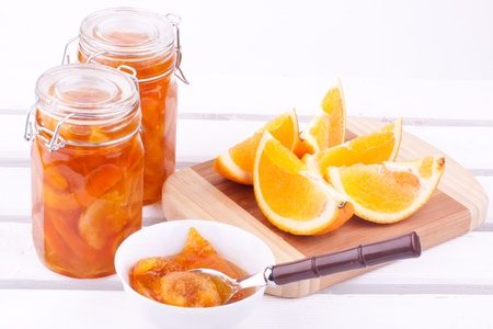 orange jam photo