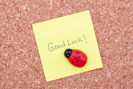 postit: good luck