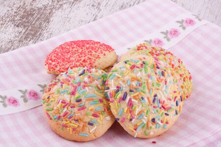 sugar sprinkles cookies