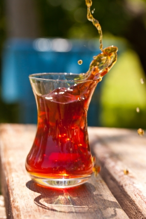 turkish tea photo