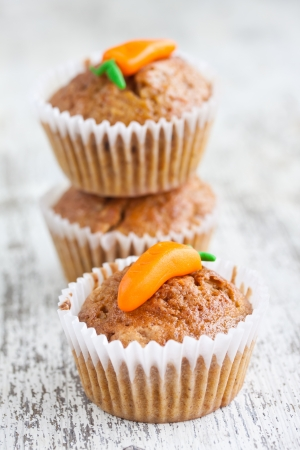 carrot muffin photo