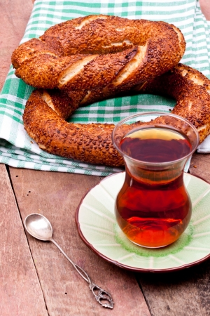 bagel: tea and turkish bagel