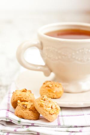 tea and cookies photo