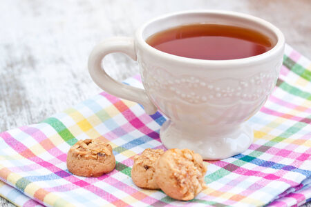 tea and cookies photo