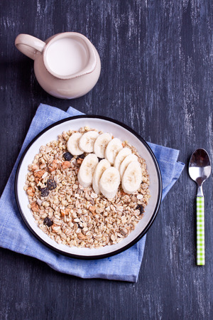 muesli: muesli with banana