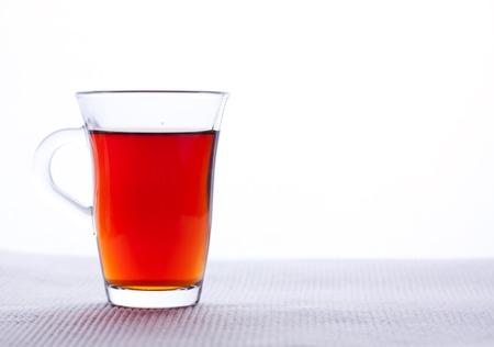 A glass of black tea 版權商用圖片