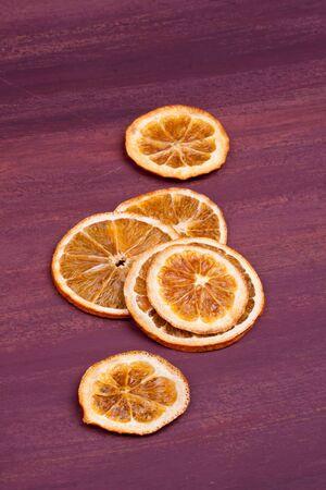 dried orange: dried orange