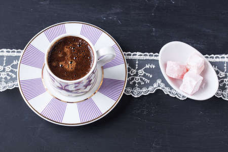 delight: Turkish coffee and Turkish delight